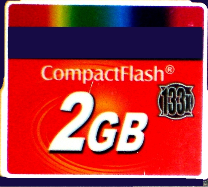 512 MB Compact flash card